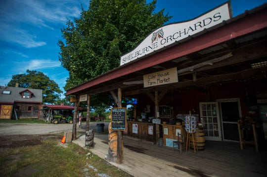Shelburne Orchards in Shelburne, Vt., has been around since the 1950s.