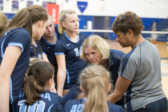 Southeastern defeated Adena in girls' volleyball Thursday night 3-0 at Southeastern High School.
