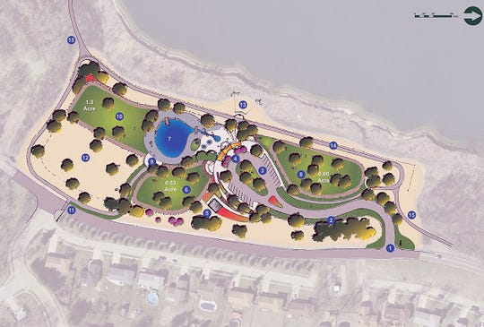 Barry Brown Paving LLC was the low bidder and is expected to begin  construction this fall on Fairfield's first dog park, located on the  west side of River Road, just south of Gray Road.