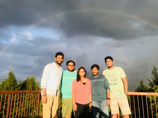 Prudhvi Raj Kandepi and his college friends spent Labor Day weekend exploring the Shenandoah National Park days before Kandepi was killed in the Fifth Third Center shooting in Cincinnati.