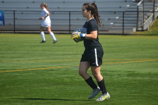 Scotch Plains-Fanwood goalie Maya Kessler was voted the MyCentralJersey.com Girls Soccer Preseason Player of the Year.