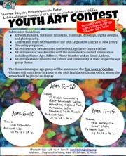 Submissions for the 18th Legislative District Office Youth Art Contest will now be accepted through Sunday, Sept. 30.