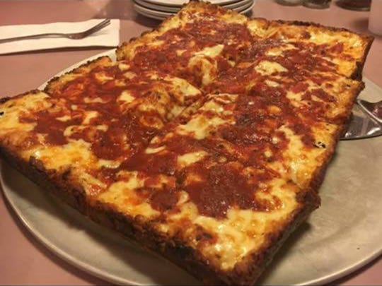 Loui's Pizza in Hazel Park has a pizza that will not disappoint and everyone loves their antipasto salad.