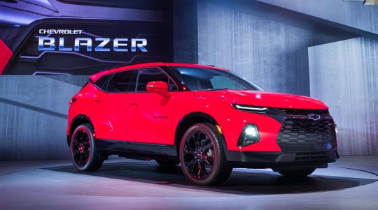 The 2019 Chevrolet Blazer is introduced on Thursday, June 21, 2018 in Atlanta, Georgia.
