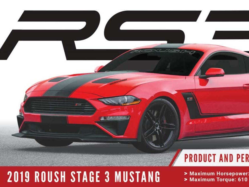 The Roush Jackhammer Mustang is limited to 200 copies for 2018, but a Stage 3 Roush cometh in October for model year 2019. In pre-order now, the 710-horse Stage 3 will come with many of the same specs as the Jackhammer.