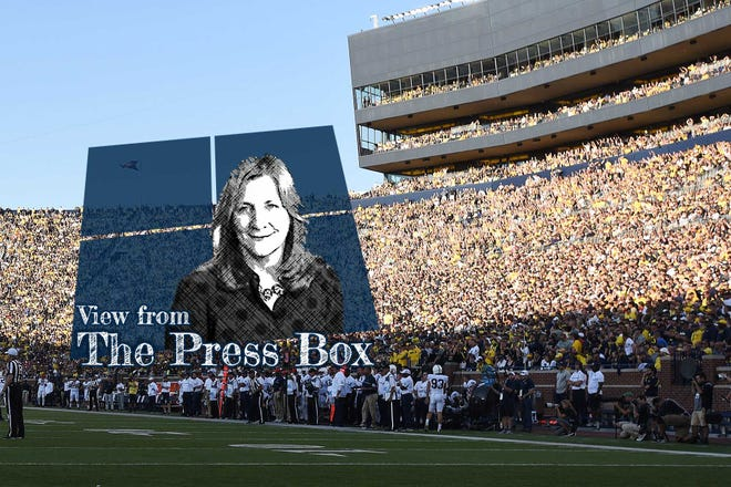 Angelique S. Chengelis has launched a weekly podcast, View from the Press Box.