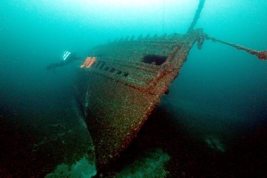 Shipwreck from 1906 found in Lake Huron's Georgian Bay