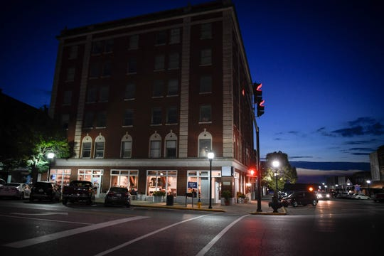 Henderson's Hometown Roots located in the historic Soaper Hotel building at the corner of Second and Main Streets in downtown Henderson Thursday, September 6, 2018.