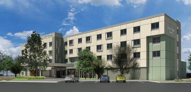 McWhinney and Stonebridge Companies are wrapping up construction on a new hotel at Centerra, the first of three new hotels on site.