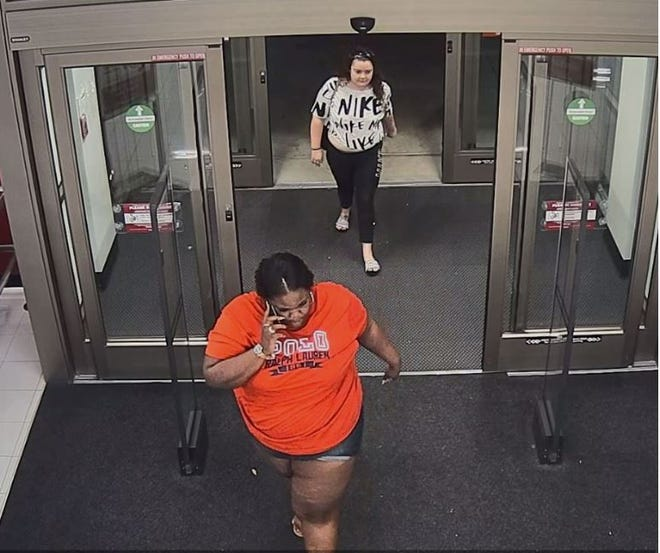 Two women are accused of stealing $600 worth of clothing from Burlington Coat Factory, Cape Coral police say.
