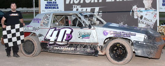 "Luxemburg's Dave ""The Hammer"" DeGrave mopped up in the street stock class in 2018, picking up track titles at The Hill in Sturgeon Bay and Luxemburg Speedway."