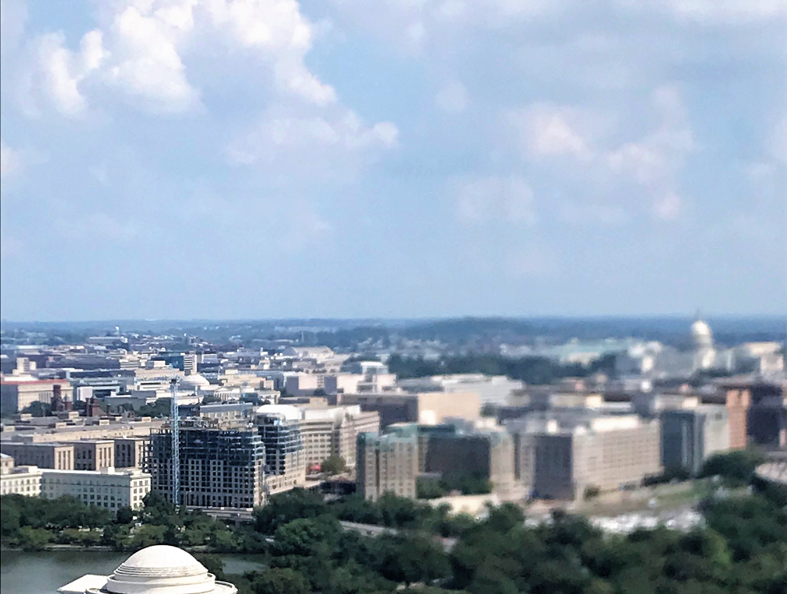 A view of Washington, D.C., on Wednesday, Sept. 5, 2018. A delegation from the Upstate Chamber Coalition traveled this week to Washington, D.C., to meet with federal lawmakers.