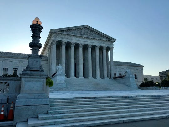 The United States Supreme Court in Washington, D.C., on Thursday, Sept. 6, 2018.