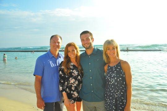 The family of Clete and Sherri LInebarger of Bozeman includes son Conner and daughter Lexi.
