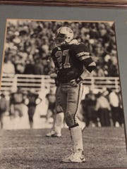 Conrad's Clete Linebarger was one of many Treasure State natives who started for the 1984 national championship Montana State Bobcats.