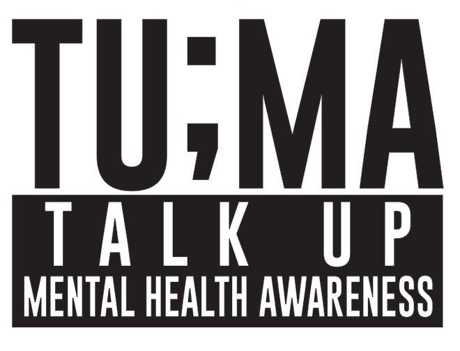 TU;MA, Talk Up Mental Health Awareness logo