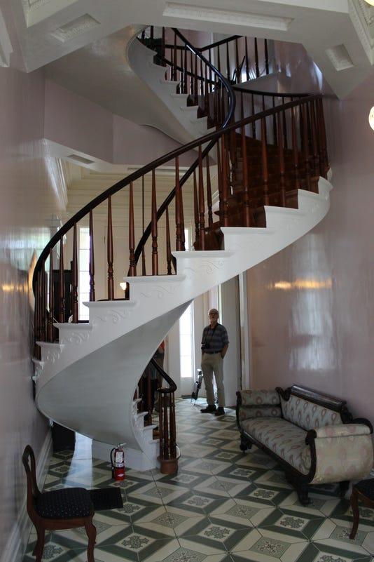 Spiral Stairway In Shrewsbury House James Glass 8 2018