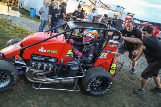 Driven2savelives Bc39 Championship Race For The Usac P1 Insurance Midget National Championship At Indianapolis Motor Speedway Thursday Sept 6 2018