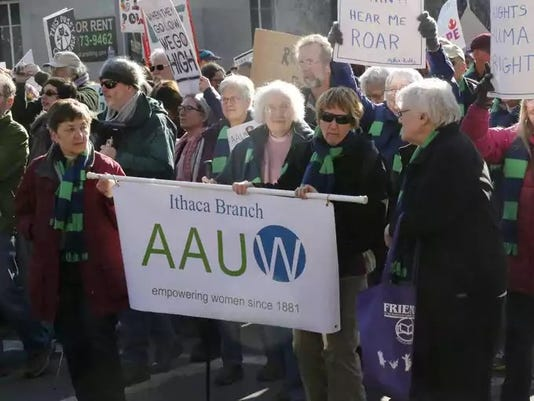 Aauw Womens March 2017