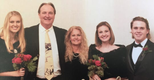 The Springman family: Sutton, Bill, Rexann, Sheridan and Slater.