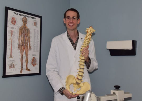 Dr. Zackery Harper says good spine health is paramount to good overall health, something to which he can personally attest. September 2018
