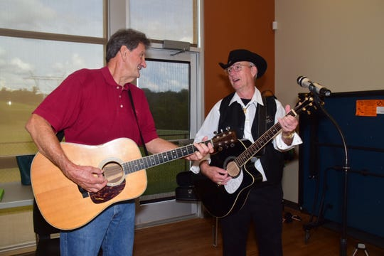 Warren Pearson and J.J. Johnson discuss which tune will kick off this month's jam session.