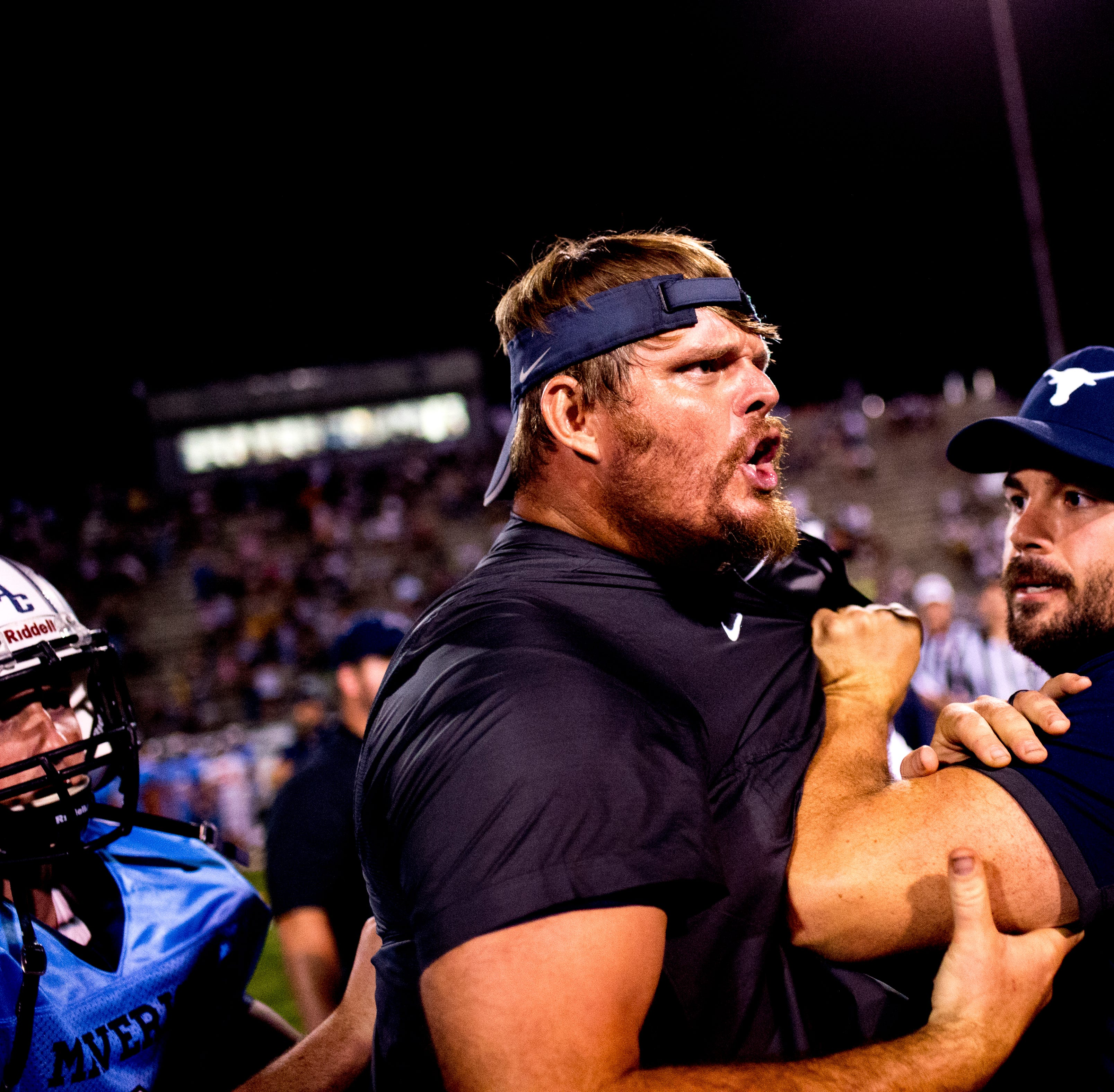 Anderson County, Clinton football coaches suspended following altercation after rivalry game
