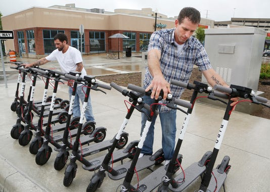 Laf Bird Drops Electric Scooters In West Lafayette And Lafayette