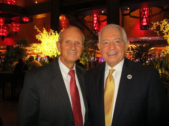 Richard Lavergne and Sen. Ronnie Johns