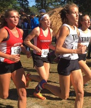Pinckney's Noelle Adriaens (455) won the first SEC cross country jamboree in a personal-best 18:16.0.