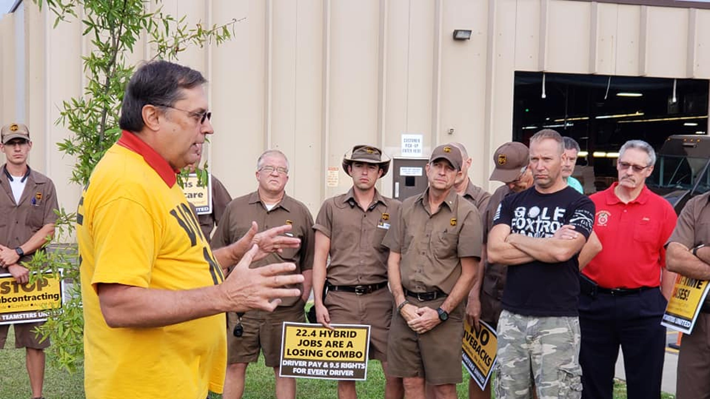 Union tells Louisville UPS workers to vote no on contract