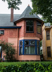 Hepburn Avenue has several colorful homes that a Louisville author says is vital for a livable community. Sept. 6, 2018