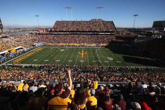 The Big Ten is 0-9 all-time at Sun Devil Stadium in non-bowl games. MSU is 1-12 out west over the last 60 years.