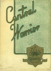 1958 Memphis Central High School yearbook cover