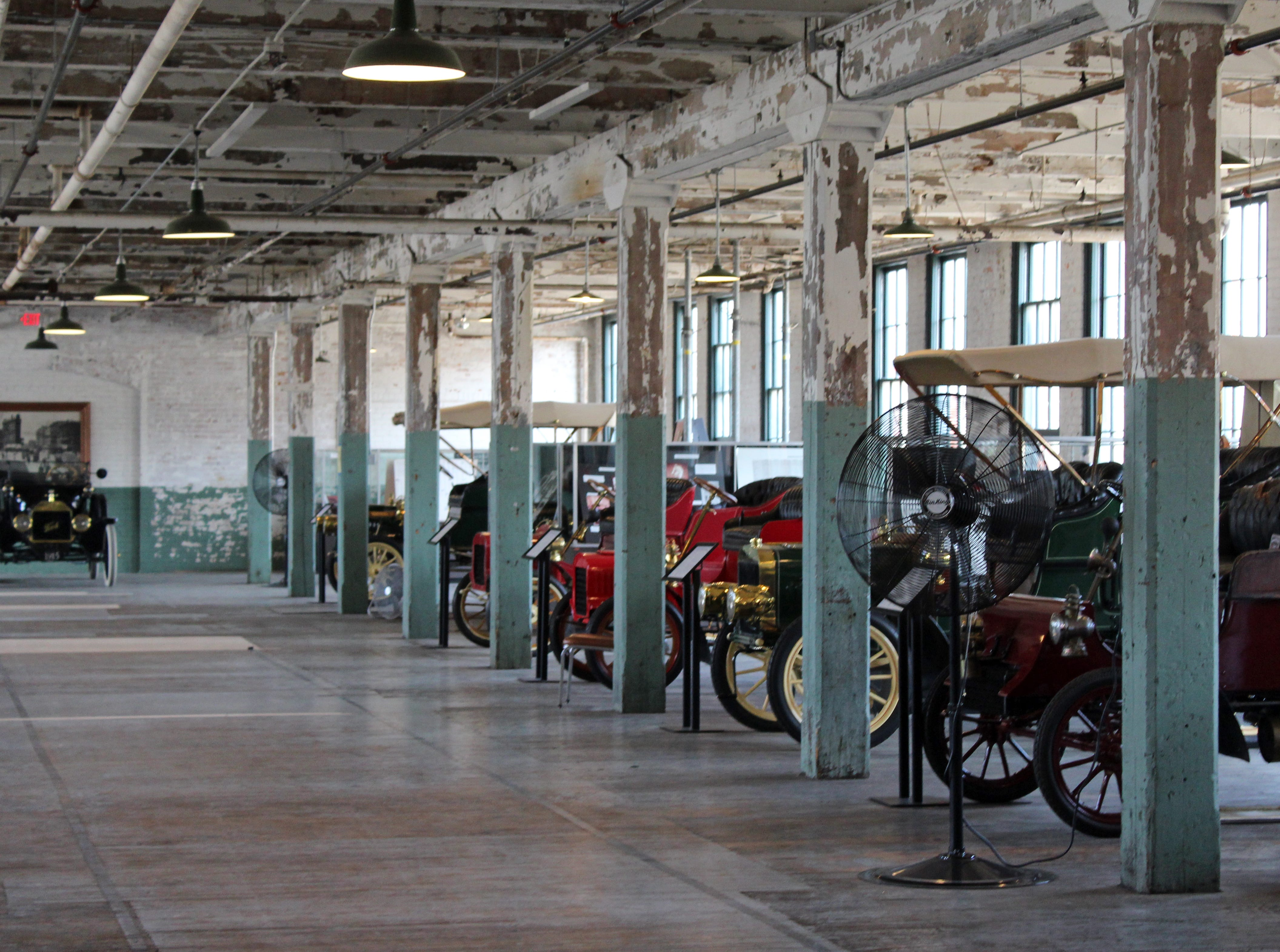 The Ford Piquette Avenue Plant, now a museum, is on Detroit's streetcar line.