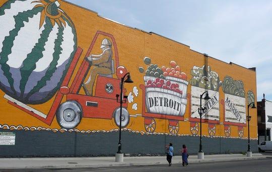 Detroit's Eastern Market is open Saturdays year round.