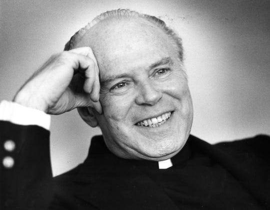 Father Gene Jakubek is shown in this 1980 photo