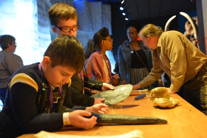 When the Milwaukee Public Museum hosted the braille games, staff got the opportunity to see how visually impaired children can interact with the exhibits in a multi-sensory way.