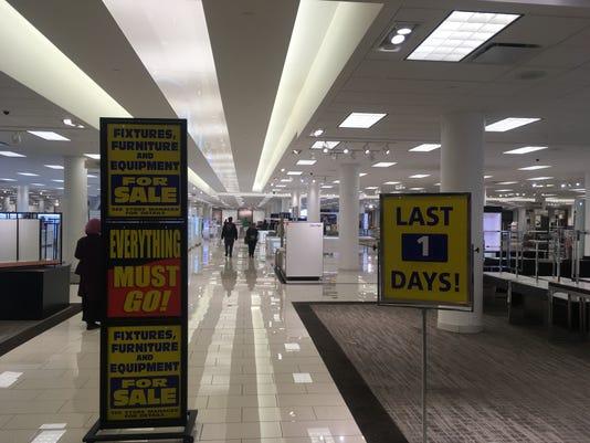 Boston Store Mayfairs Last Day