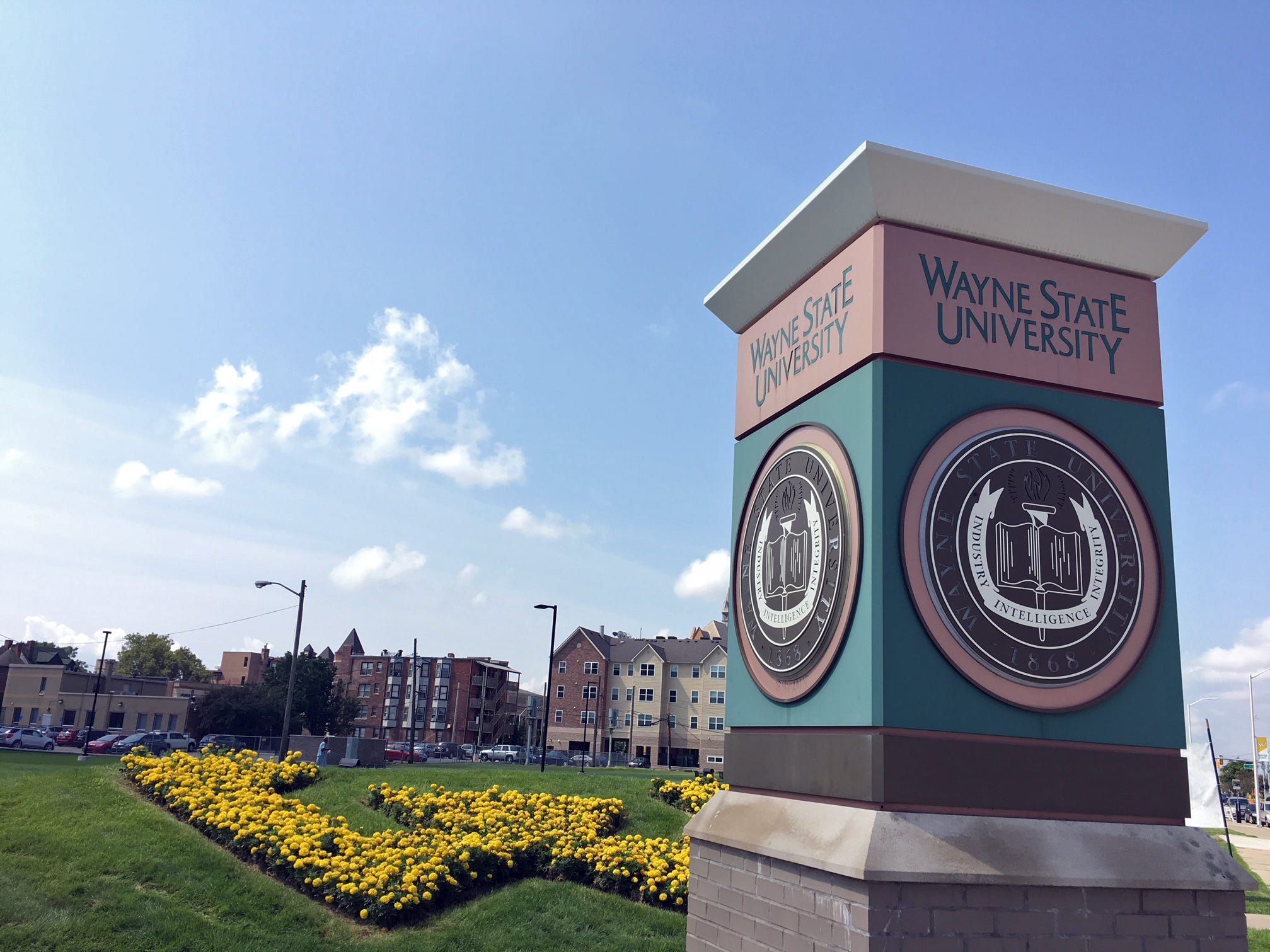Wayne State University is a stop on Detroit's QLine.