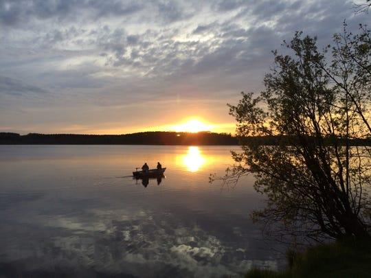 Mauthe Lake State Park.