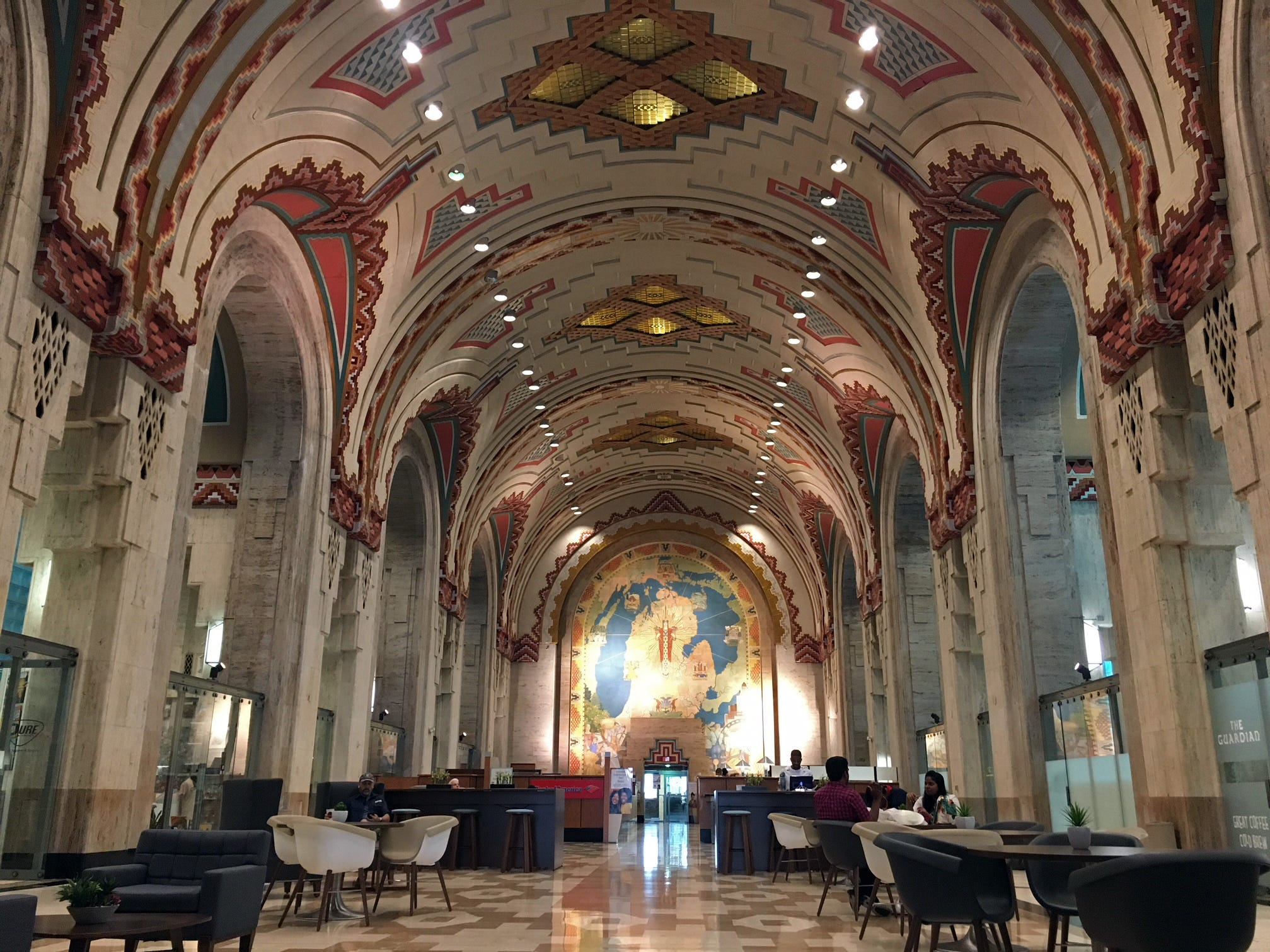 Detroit's Guardian Building is a National Historic Landmark.