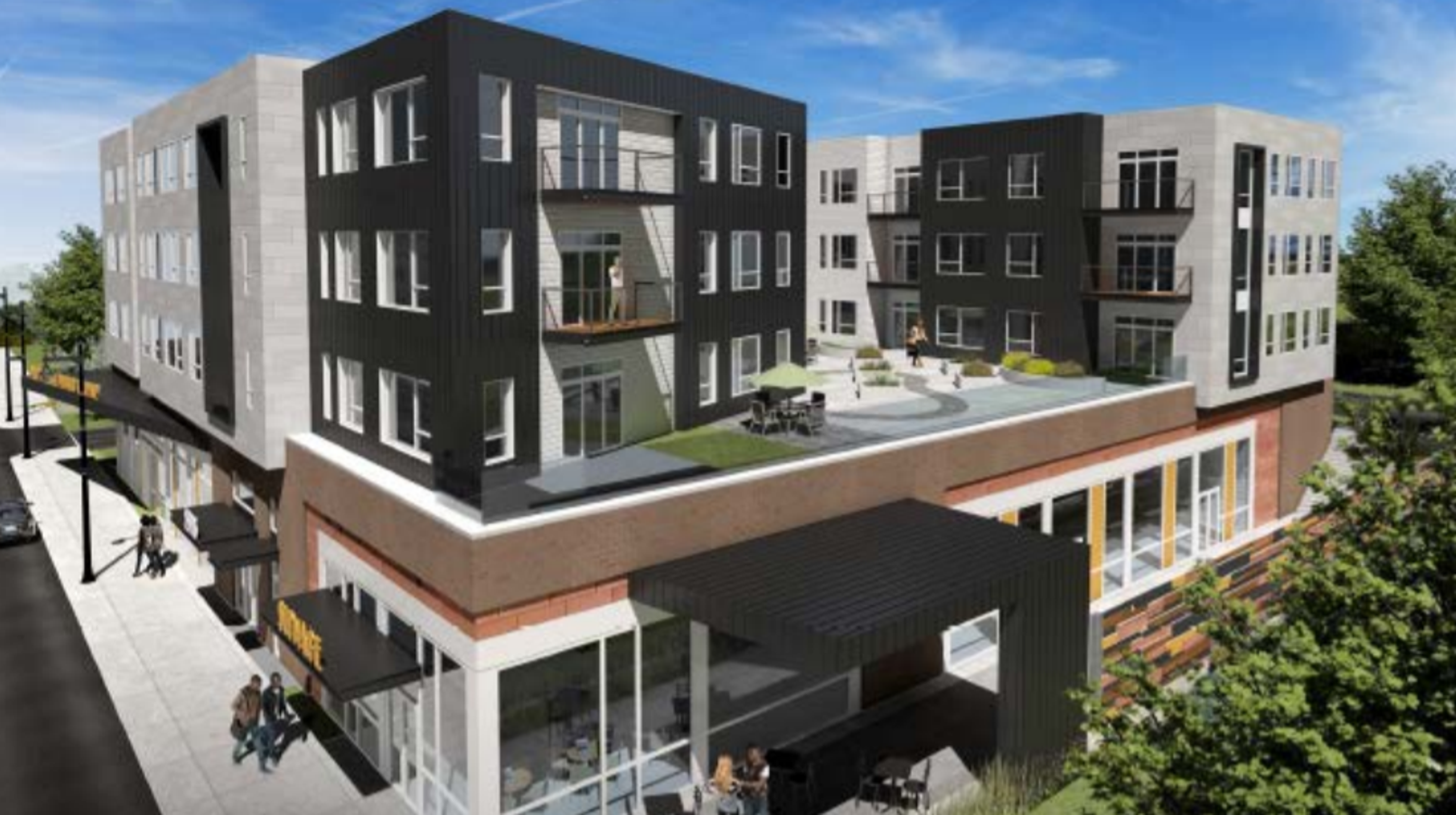 Delayed Milwaukee King Drive Library And Apartment Development Getting Boost With New Partner