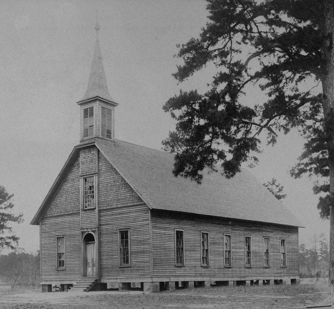 Founded in June 1818, the Antioch Baptist Church existed prior to Alabama being named a state.
