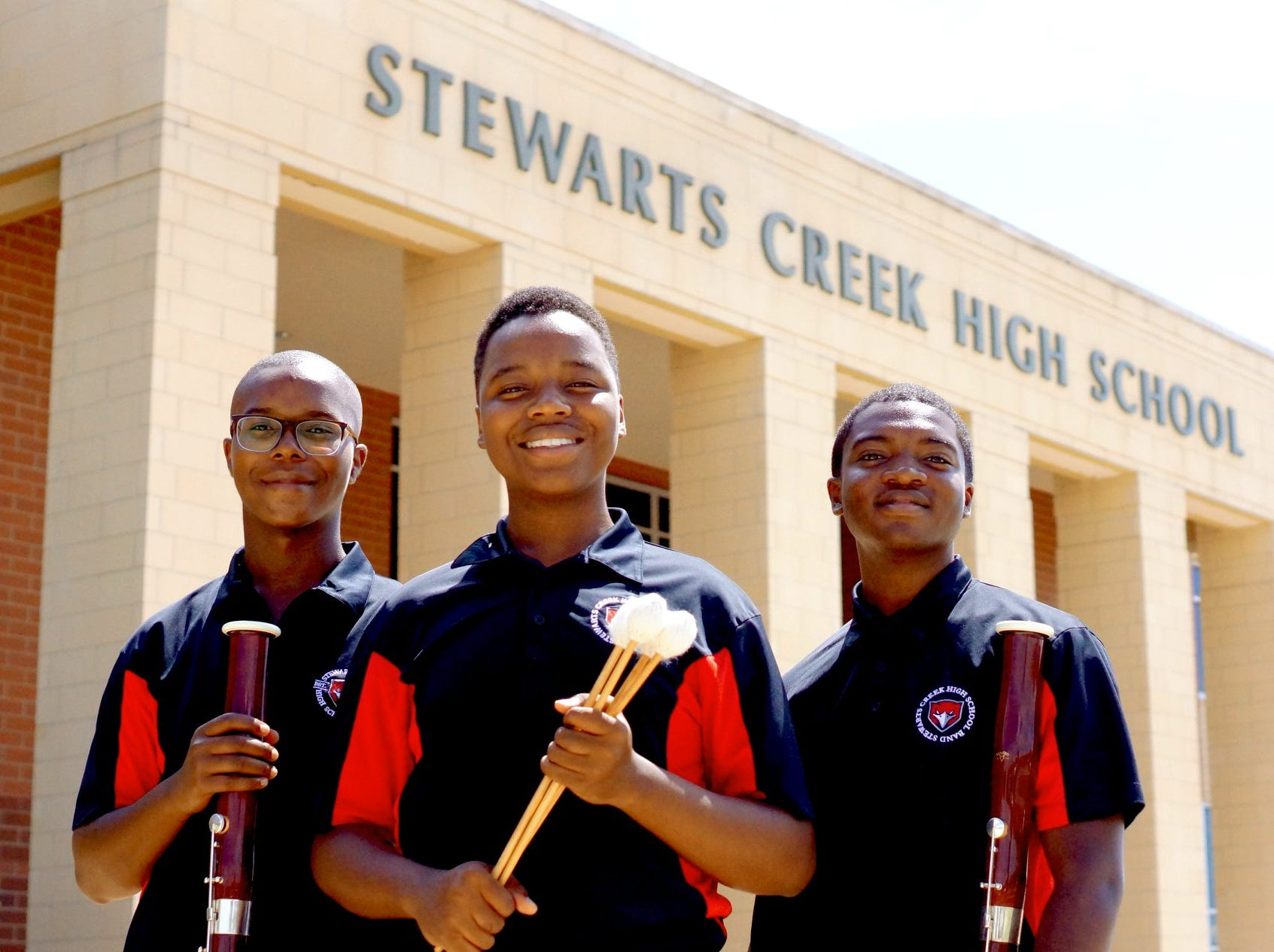 Stewarts Creek High musicians Xayvion Davidson, Xavion Patterson and Mario Shaw – were selected for the 2018–19 class of the Nashville Symphony Accelerando Initiative.