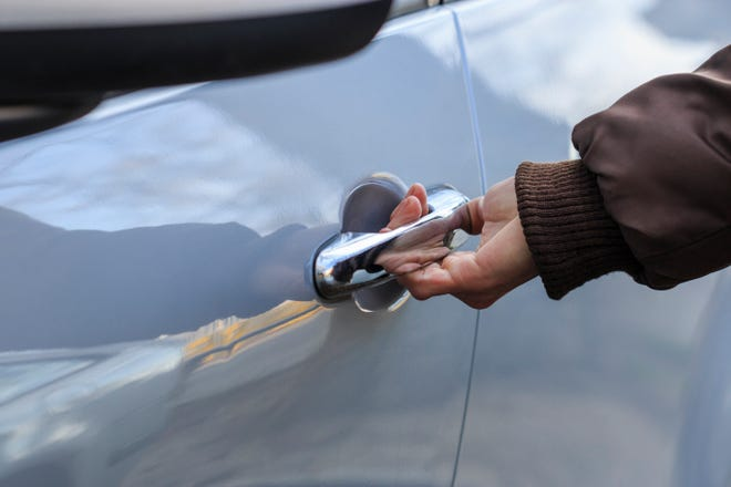 Car break-ins have been a concern for Hendersonville residents.