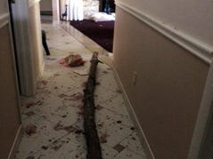 Barbara Velez of Naples shared this photo of her home after Hurricane Irma.