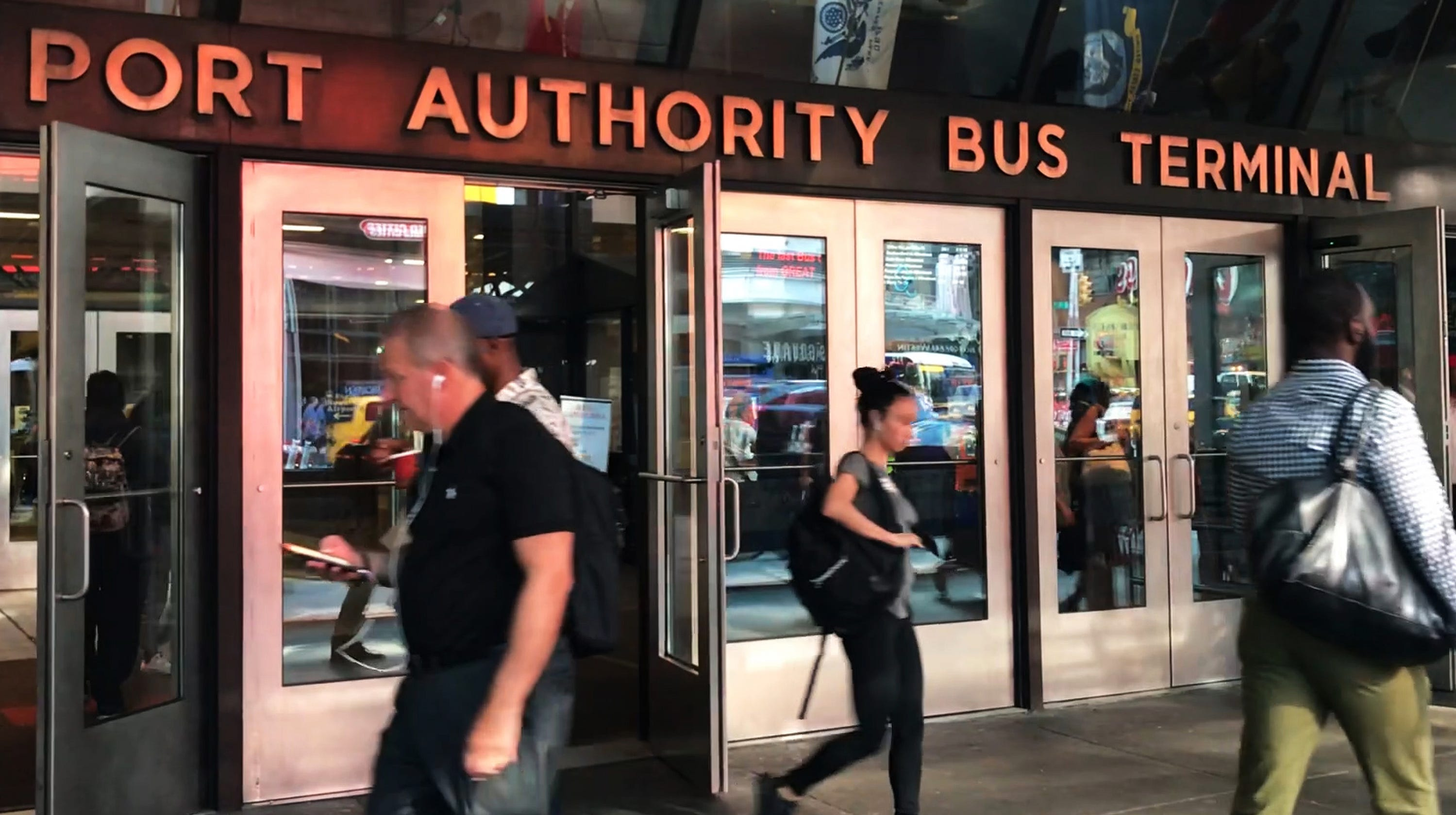 Port Authority bus terminal: Service resumes after Union