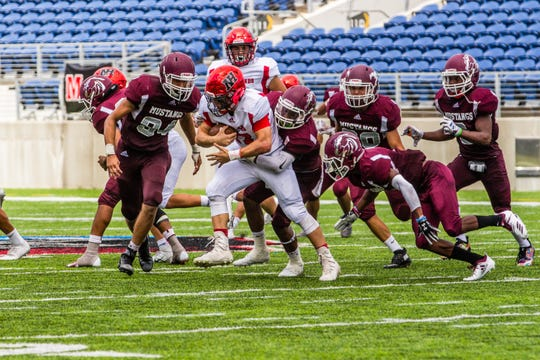 Action from Northern Highlands vs. Clifton in Canton, Ohio. Clifton won 28-14.