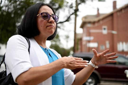 """""""The church is led by men, but it is also led by the spirit, and the men are men who are not perfect,'' said Maritza Penagosof Garfield, who attends St. Nicholas Church in Passaic. """"There is always going to be scandals against the church. I pray for Pope Francis to help him know what to do and what decisions he must make."""""""
